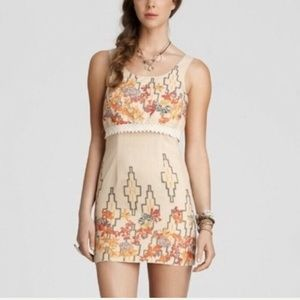Free People Bohemian w/metalic sheen Size 10